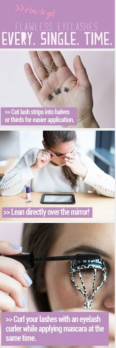 26 beauty hacks for flawless eyelashes (both real and, um, not real).