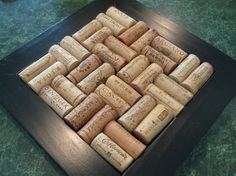 CHRISTMAS gifts, 3 large wine cork trivets, DIY, add your corks, gift for family, friends