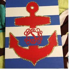 Monogram anchor!