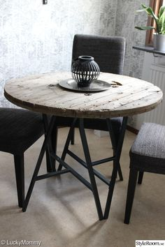 Matplats kabeltrumma benbock lerberg   Diy TableDining TableIkea HackDiy  Modern IKEA hack roundup   Diy table  Diy dining table and Trestle  . Dining Table Ikea Hack. Home Design Ideas