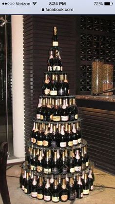 wine bottle christmas tree instructions