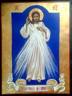 Divine Mercy of Jesus . Croix Christ, Savior, Jesus Christ, Catholic Easter, Paint Icon, Divine Mercy, Jesus Pictures, Religious Icons, Christian Church