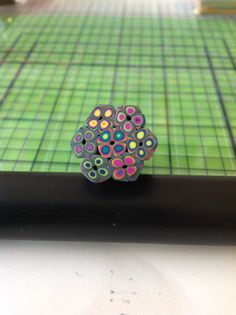 Flower cane with the extruder