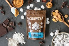 Chowza Confections! — The Dieline - Branding & Packaging Design