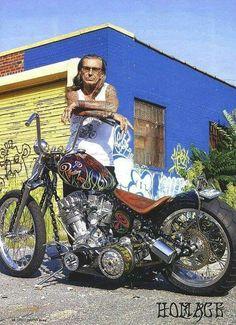 Indian Larry Harley Davidson, y otras mas! man ❤️ Hombres en moto ❤️ Riding Motorcycles ❤️ Mans on Bikes ❤️ Biker Harley ❤️ Boy Riders ❤️ Mans who ride rock Cool Motorcycles, Vintage Motorcycles, Indian Motorcycles, Custom Choppers, Custom Bikes, Custom Bobber, Bobbers, Moto Logo, Harley Bobber