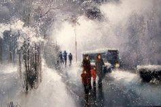 Зимние пейзажи Игоря Медведева. Обсуждение на LiveInternet - Российский Сервис Онлайн-Дневников