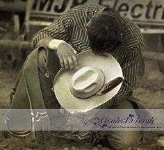 Cowboy praying...one of the most awesome things to ever see