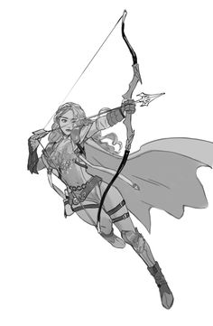 New fantasy art archer design reference ideas Art Poses, Drawing Poses, Fantasy Character Design, Character Design Inspiration, Character Poses, Character Art, Archer Pose, New Fantasy, Poses References