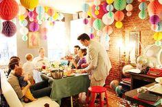 ホームパーティ PARTY 飾り付け アイデア