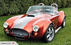 1965 427-SC COBRA ROADSTER and Dad is on the web too at http://americlense.webs.com/