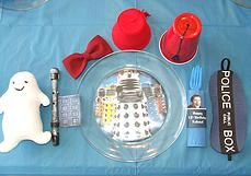 geekery hand crafted jewelry, party ideas D.I.Y decor | Doctor Who Party
