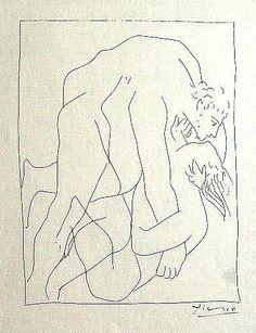 PABLO PICASSO - Metamorphoses - Lithograph, 1931.