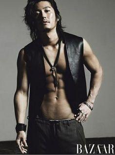 Jang Hyuk / 장혁 though I think I like him better with short hair