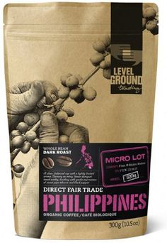 Coffee packaging - like the background image