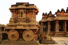 Vitthala Temple Chariot, Hampi, Karnataka Indian Temple Architecture, Ancient Architecture, Hampi, New Delhi, Monuments, Hindu Names, Le Taj Mahal, National Symbols, Javanese