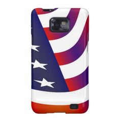 American Flag Galaxy SII Cover #USA #America #American #Flag #Patriotic #Holiday #Independence #Mobile #Phone #Case #Cover #Samsung