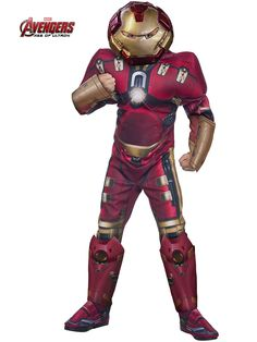 Boys Avengers 2 Deluxe Hulkbuster Costume - Superheroes Party Costumes for Boys