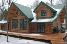 AMAZING LOG CABIN FOR $56,000