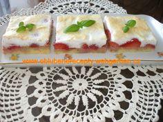 Snehový jahodový koláč Tiramisu, Waffles, Breakfast, Food, Morning Coffee, Essen, Waffle, Meals, Tiramisu Cake