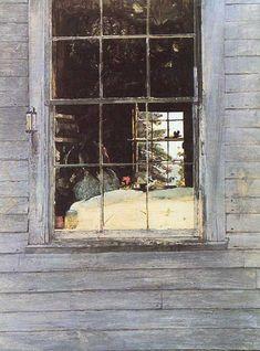 "Andrew Wyeth ""Geraniums"""