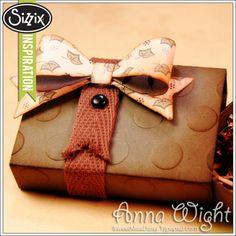 Sizzix Die Cutting Inspiration   Masculine Matchbox by Anna Wight