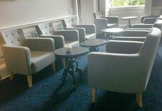#restaurant #seating #officeblueprint #ROSL #London #meeting #social