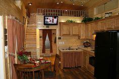 Creekside Photo Gallery || Park Model Homes || Virginia & Pennsylvania (Sequoia Park Model Cabin)