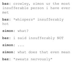 *sweats nervously and kicks simon down the stairs*