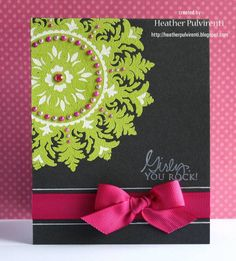 Girly, You Rock! by inglishrea - Cards and Paper Crafts at Splitcoaststampers