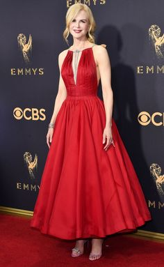 Emmys 2017 Best Dresses - Nicole Kidman in Calvin Klein by Appointment