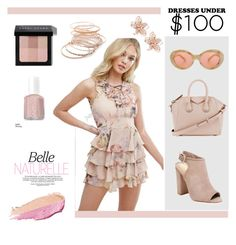 """""""Belle Naturelle"""" by veronique-chasse on Polyvore featuring mode, Missguided, Schutz, Givenchy, By Terry, Essie, Bobbi Brown Cosmetics, Acne Studios, NAKAMOL et Red Camel"""