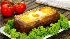 Falscher Hase mal anders - gefüllt mit Schinken, Käse und Ei.