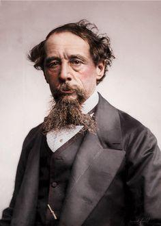 wickfield - c0lorvintage: Charles Dickens c. 1860s Original...