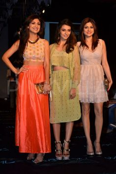 Shilpa Shetty Kundra and Shamita Shetty attend LFW | PINKVILLA