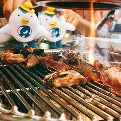 韓国に行ったらやっぱり肉でな〜🍖 #でな旅韓国 #韓国 #でな旅ソウル#カルメギサル #太陽の末裔#서래갈매기살 #meat#肉#instafood#instaeat #food#foodstagram #delicias