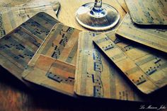 La Maison Jolie: Antique Music Coasters