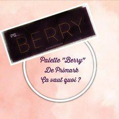 """Toujours conquise des produits de chez Primark, la marque m'a-t-elle encore conquise aujourd'hui ? Voici une revue complète sur la palette """"Berry"""" de chez Primark. #primark #beauté #yeux"""
