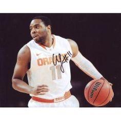 Fab Melo Signed *Syracuse Orange* 8X10 Photo W/Coa A