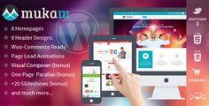 Mukam - Limitless Multipurpose Wordpress Theme - http://fitwpthemes.com/mukam-limitless-multipurpose-wordpress-theme/