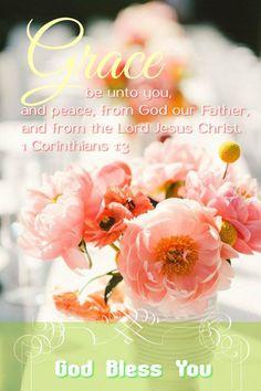 Genade zij u en vrede van God onze Vader en de Heere Jezus Christus.