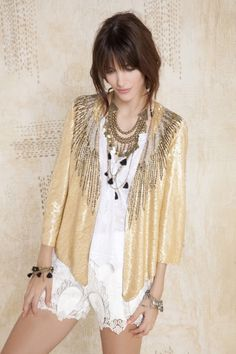 Saco Feather Gold