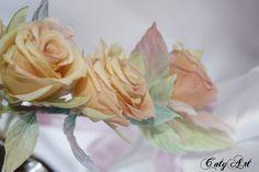Шелковые цветы Екатерины Завалишиной