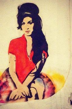 """Bambi, la """"Banksy"""" al femminile amata dalle star. Dal primo stencil di Amy Winehouse al ritratto di Kim Kardascian ascesa della street artist dei VIP (FOTO)"""