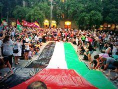 9/08/14 Barcellona solidale con #Gaza e la #Palestina.