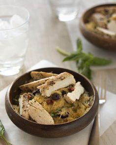 A great recipe to cook tomorrow! > Basil and Sundried Tomato Spaghetti Squash Salad with Melia Freshline Kalamata Olives. > RECIPE: http://slimpalate.com/basil-and-sundried-tomato-spaghetti-squash-salad-paleo-grain-free-gluten-free/