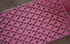 How to Crochet: texturierter Wellenstich Stitch Crochet, Crochet Stitches, Baby Applique, Crochet Videos, Diy And Crafts, Camilla, Blanket, Creative, Pattern
