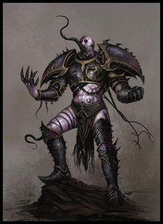 Slaanesh Champion - EA Mythic, © Games Workshop