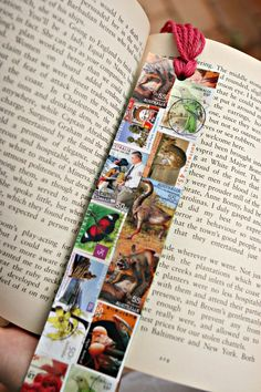 stamp collage bookmark | by Olive & Esther