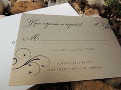 Rustic Wedding - Custom Wedding Paper goods by Le Petit Papier - www.lepetitpapierbymonica.com