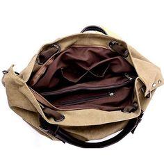 Buy Soft Canvas Handbag/Shoulder Bag by Amaryllis on OpenSky